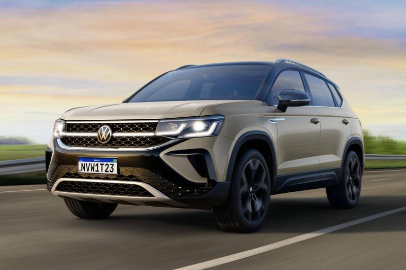 Revelado, VW Taos é SUV médio que une o melhor de T-Cross e Nivus